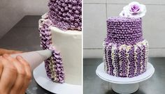 Buttercream Cake Decorating. Fast and Easy Technique by CakesStepbyStep.