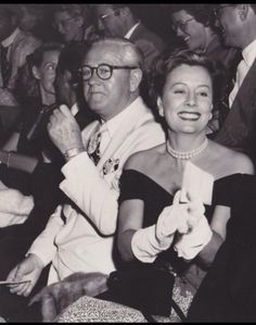 Irene Dunne and her husband