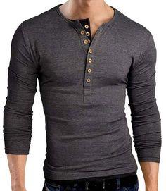 New Henley Shirt for Men