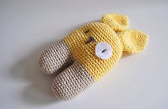 Hand crochet toy bunny crochet soft toy yellow crochet bunny kids crochet toy crochet animal stuffed toy baby shower gift idea READY TO SHIP by SillySilz on Etsy https://www.etsy.com/listing/223711419/hand-crochet-toy-bunny-crochet-soft-toy