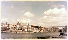 D. Luis Bridge in Porto city - Portugal