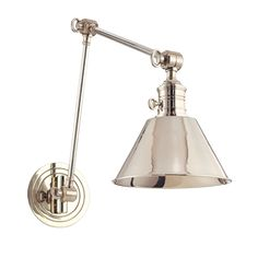 Garden City Sconce in Polished Nickel - Hudson Valley Lighting [for master bath vanity]