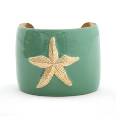 Wimberly Inc - Cuff Bracelet - Seafoam Starfish **$48** 20% OFF WITH CODE - REDBOOK20