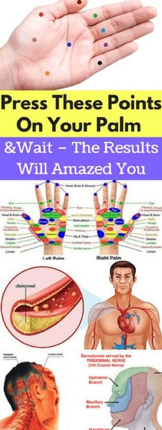 Press These Points On Your Palm And Wait – The Results Will Amazed You