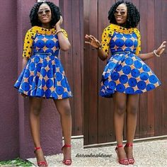 Ankara Gown 2017 Designs : Latest 2017 Collection of Ankara Gown