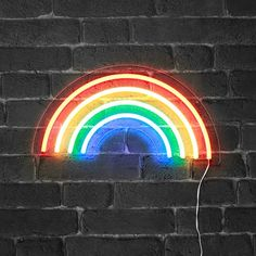 Vintage industrial style decor trends to make a lasting impression in your guests! Neon Aesthetic, Rainbow Aesthetic, Image Arc En Ciel, Decora Home, Images Murales, Neon Led, Wallpaper Iphone Neon, Vintage Industrial Decor, Industrial Style