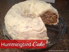 Hummingbird Cake rec