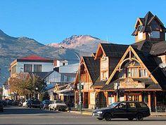 La hermosa ciudad de Esquel, en la Patagonia argentina