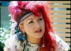 My idol..  CYNDI LAUPER