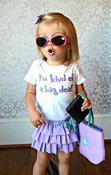 I'm Kind Of A Big Deal - Funny Baby Onesie - Bodysuit - Baby Shirt - Kids Tee - Toddler Shirt