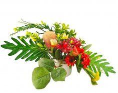 Silk Christmas Flower Arrangement Ideas | Design Ideas Flower Arrangements 1200x951 12971369 Colorful Artificial ...