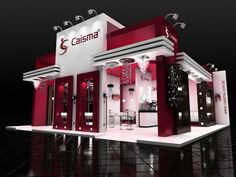 Exhibition Stall Reference : Best booth open side images exhibition stall design