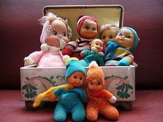 antigas bonecas anos 80