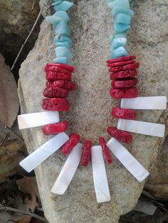 Hey, I found this really awesome Etsy listing at https://www.etsy.com/listing/181372592/native-american-tribal-style-coral