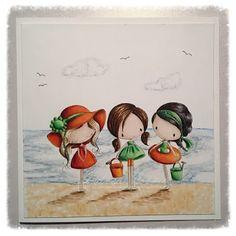 SheepSki Designs: Down at the beach