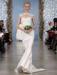 Oscar de la Renta Wedding Dresses - 2014 Bridal Collection | Junebug Weddings