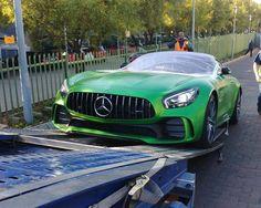 The Beast Of The Green Hell has arrived   via @kayimb  #ExoticSpotSA #Zero2Turbo #SouthAfrica #MercedesAMG #GTR #AMGGTR #GreenHell