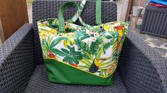 Sac Samba vert tropical de Marie-Helène - Patron Sacôtin
