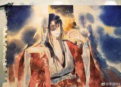 Manga Watercolor, Watercolor Paintings, Fan Anime, Anime Art, Anime Chibi, Anime Kunst, Fujoshi, Traditional Art, Art Tutorials