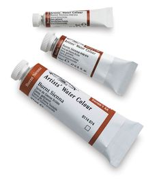 Windsor & Newton watercolors : 5 ml, 14 ml, and 37 ml Tubes