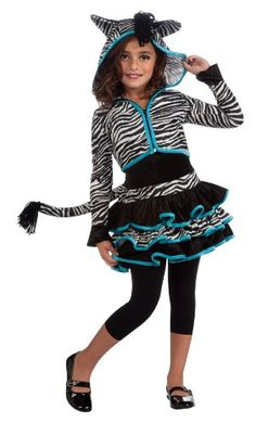 Drama Queens Zebra Hoodie Costume, Medium -- Check this awesome product by going to the link at the image.