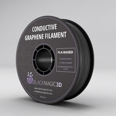 Graphene Lab Inc. (Calverton, NY) has introduced an electrically conductive and flexible filament for printing from thermoplastic graphene. The graphene-enhanced thermoplastic polyurethane (TPU) material. 3d Printing Materials, 3d Printing Diy, 3d Printing Service, 3d Filament, 3d Printer Filament, 3d Printed Objects, Best 3d Printer, Homemade 3d Printer, Electrical Projects