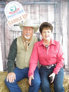 Harris family at 13th Annual Saddle Up! in Pigeon Forge