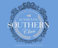 Southern Marsh Collection — Southern Marsh Southern Class - Long Sleeve  size M breaker blue