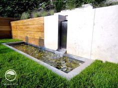 #landcape #architecture #garden #water #feature #cascade #lawn
