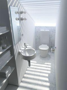 Duravit - Bathroom design series: Architec - washbasins, toilets, and urinals from Duravit.