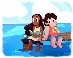 Steven Universe: Stargazing by richdogan on DeviantArt Steven Universe Theories, Steven Universe Drawing, Steven Universe Ships, Steven Universe Movie, Universe Art, Cosplay, Bff, Kids In Love, Thing 1
