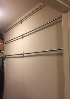GRUNDTAL bar shoe racks