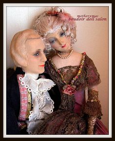 french man boudoir doll court valentino
