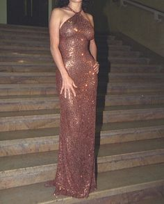 WEBSTA @ virgomood - Salma Hayek, Versace fashion show 2001
