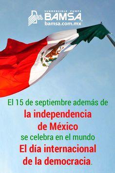 Día Internacional de la Democracia.