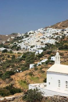 Greece has it all ! Tinos Greece, Greek Islands, Paris Skyline, Most Beautiful, Travel, Greek Isles, Viajes, Trips, Traveling
