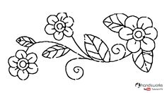 Elegant Embroidery Design | Easy Buttonhole Stitch flower | HandiWorks #79