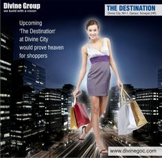 #Bhoomi #Poojan for 'The Destination' is taking place at #DivineCity on NH-1,#Ganaur, #Sonepat very soon. It would prove the best place for shoppers.