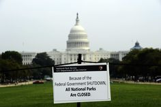 ICYMI: This Is What Actually Shuts Down During a Government Shutdown