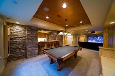 Basement Design Gameroom