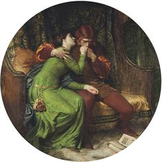 'Paolo & Francesca' by Sir Frank Dicksee.