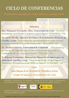 """Patrimonio Industrial Arquitectónico: Ciclo conferencias """"Patrimonio emergentes: viejas ..."""