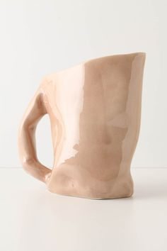 ceramic pitcher... I could totally make this!!! ...and I think I will!
