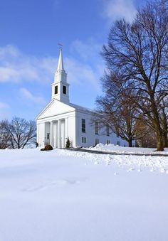 Winter Church, Brimfield, MA