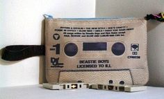 Beastie Boys Licensed to Ill 80s Large Cassette Tape Clutch