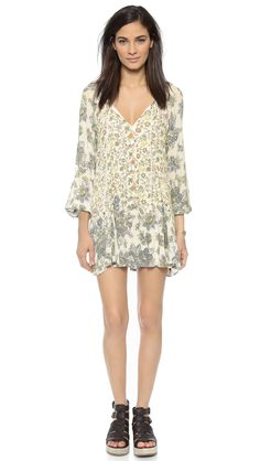Free People Lucky Lossey Dress