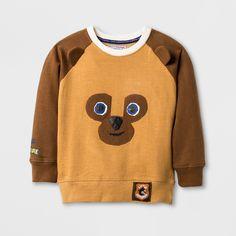 Toddler Girls' The World of Eric Carle Brown Bear Sweatshirt - Brown Girl's Gender: female. Baby Shirts, Tee Shirts, Graphic Tees, Graphic Sweatshirt, Baby Kids, Toddler Girls, Cute Sweatshirts, Eric Carle, Book Characters