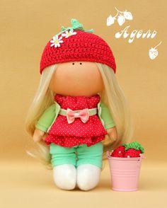 Рукоделки у камина: Куколка Адель .