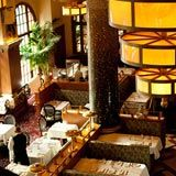The Grand Cafe is one of the first places I dined in San Francisco. Situated in the Ballroom of the Grand Hotel which is now part of the Hotel Monaco. Solid French Bistro food. Love the decor except for the lights. Although the hotel is still there the space is now gone.
