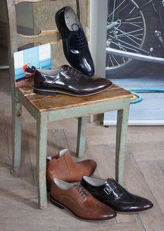 Schicke Business-Schuhe für Herren aus glänzendem Leder - Impressionen vom Clarks Press Day in Hamburg: http://stryletz.com/press-days-2014-clarks-aw-201415/ #HW14